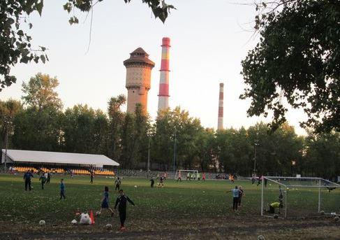 Стадіон у місцевості ДВРЗ