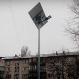 Автономні сонячні ліхтарі на Воскресенці