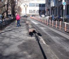 Делініатори на вулицях Києва