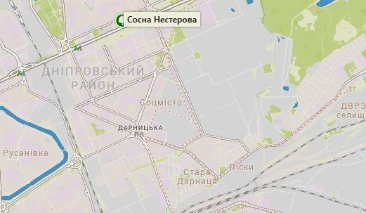 Создана интерактивная карта самых древних деревьев Киева