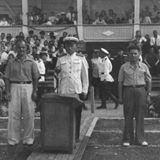 Стадіон ДВРЗ у післявоєнні роки: трибуни
