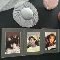 Виставка капелюшків у Музеї історії туалету