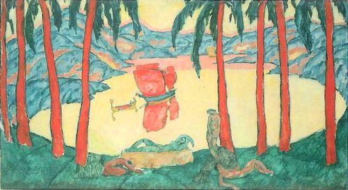 Червоні вітрила художника Нюренберга