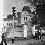 Колишній світлофор біля башти Івана Кущника