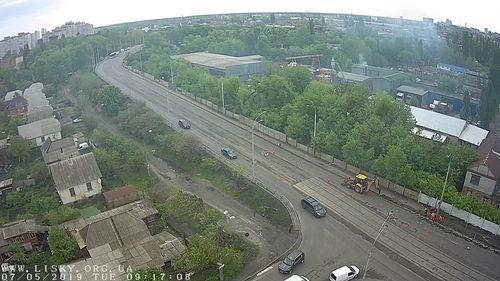 Ремонт тротуару перед мостом на ДВРЗ