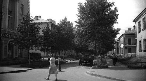 Вулиця Волховська в 1950-ті та 1960-ті роки