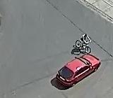 ДТП з велосипедистом на перехресті Трактористів-Алматинська