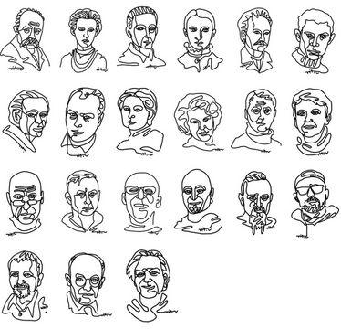 Поличка українських письменників