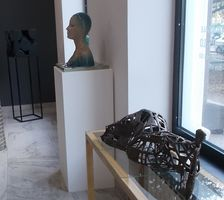 Украинская современная скульптура в галерее на Первомайского