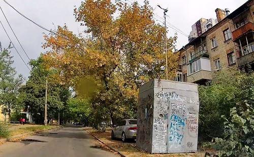 Пост спостереження на вулиці Інженера Бородіна
