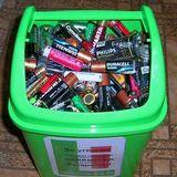 70 тонн батарейок киян повезуть на переробку у Румунію