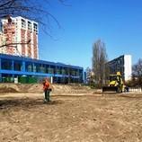 Ремонт парку біля озера Тельбин