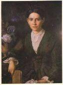 Портрет жены Павла Ивановича Шлейфера