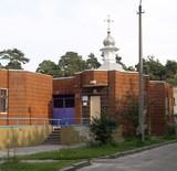 Перша будівля храму вмч Пантелеймона на ДВРЗ