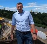 Віталій Кличко перевірив роботи зі встановлення флагштоку для головного прапора України