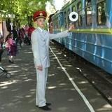 Цього дня в Києві відкрилась дитяча залізниця