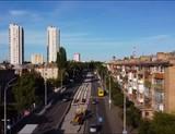 Реконструкція лінії київського трамвая на ДВРЗ