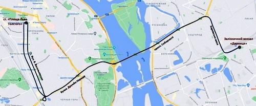 У Києві планують нові довгі маршрути транспорту
