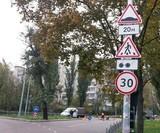 Ще два переходи на Березняках захистили пристроями примусового зниження швидкості