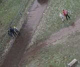 Через ожеледицю кияни ходять газонами