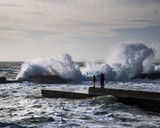 Последний одесский шторм 2020 года (фотозарисовка)