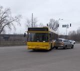 ДТП на перехресті Дніпровська набережна - Тичини