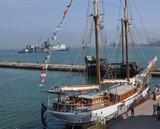 Вітрильний сезон в Одесі відкрила 105-річна яхта