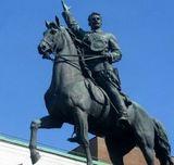 В этот день в Киеве торжественно открыт памятник Щорсу