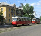 Про відновлення трамвайного руху у місцевості ДВРЗ в Києві