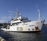 В Одессу прибыло научно-исследовательское судно, переданное Украине Бельгией