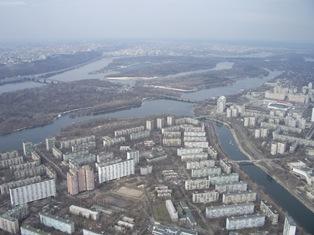 Русанівка, Гідропарк, міст метро