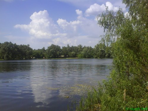 Озеро Лісове на ДВРЗ
