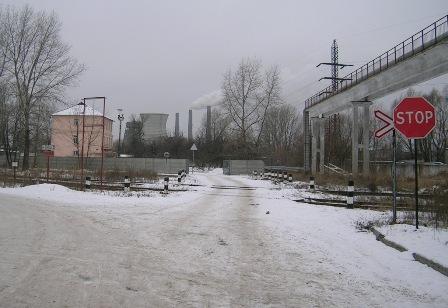 Нова дорога на ДВРЗ.