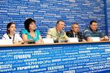 Прес-конференція на тему 'Чемпіонський урок киянина'