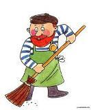Робота на ДВРЗ: двірник, кухар, комірник та ін.