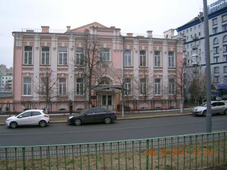 9. Гімназія на вул.Предславінській, 1904р.