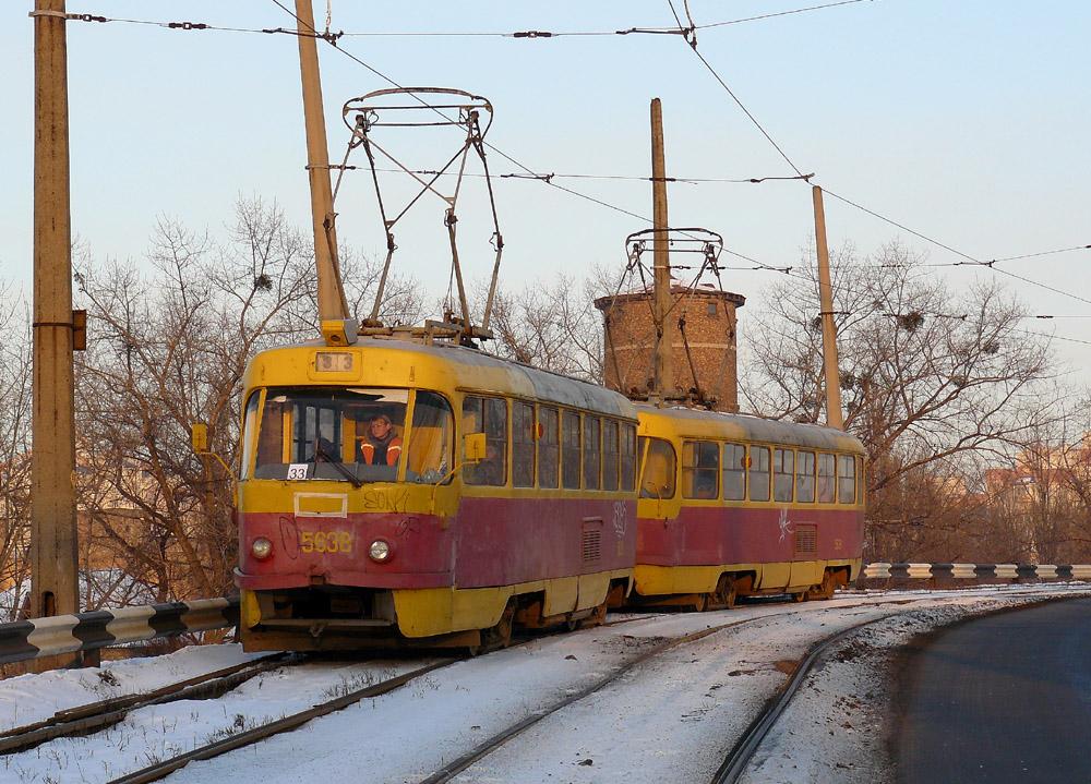 Трамвай №33, міст на ДВРЗ, 2009р.