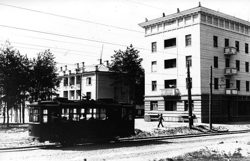 Трамвай на ДВРЗ, 1937р.
