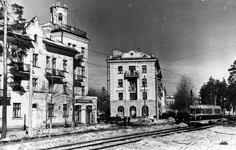 Зупинка 'Ринок ДВРЗ', 1960р.