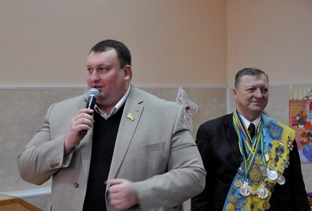 Павло Тесленко і Юрій Чиж