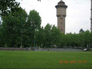 Стадіон ДВРЗ, вежа заводу