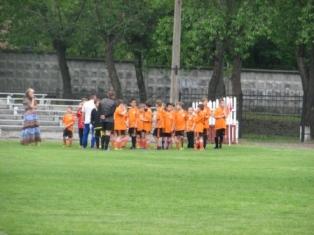 Стадіон ДВРЗ, юні футболісти